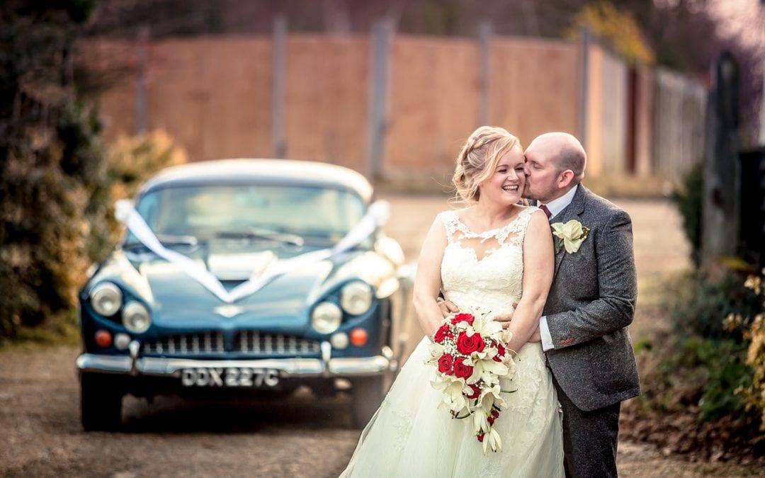 Winter Wedding at Essex Wedding Venue, High Barn