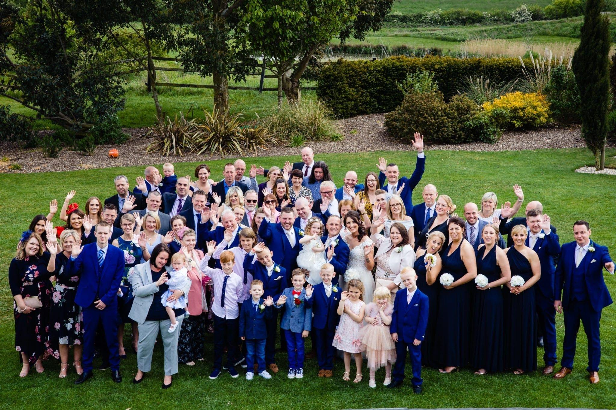 Essex Wedding Groups shot