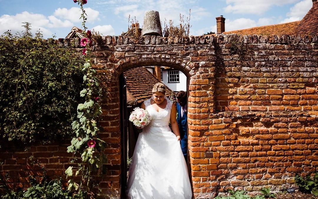 Cressing Temple Barns Wedding – Mid Summer