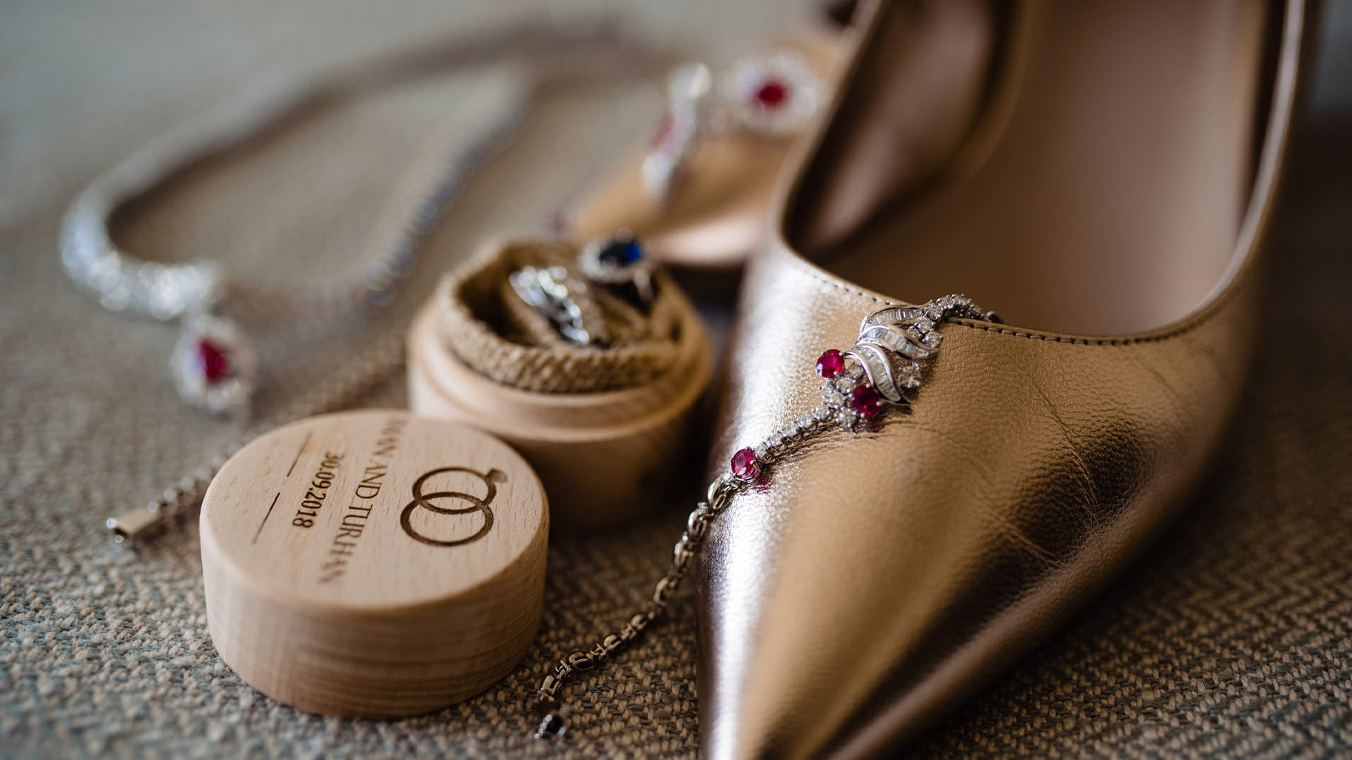 Wedding Rings and shoes - Wedding Photography