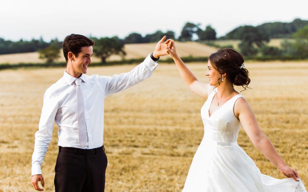 English Garden Wedding Photography: Andre & Bella