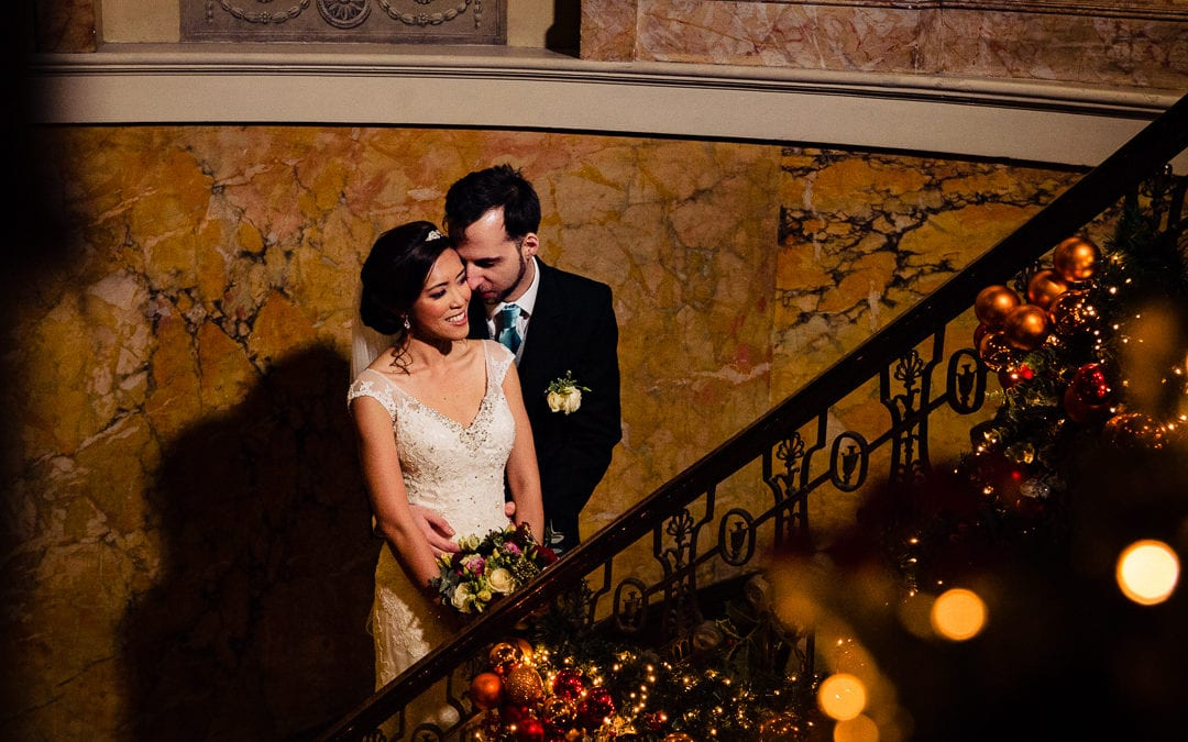 Winter Wedding at Home House London