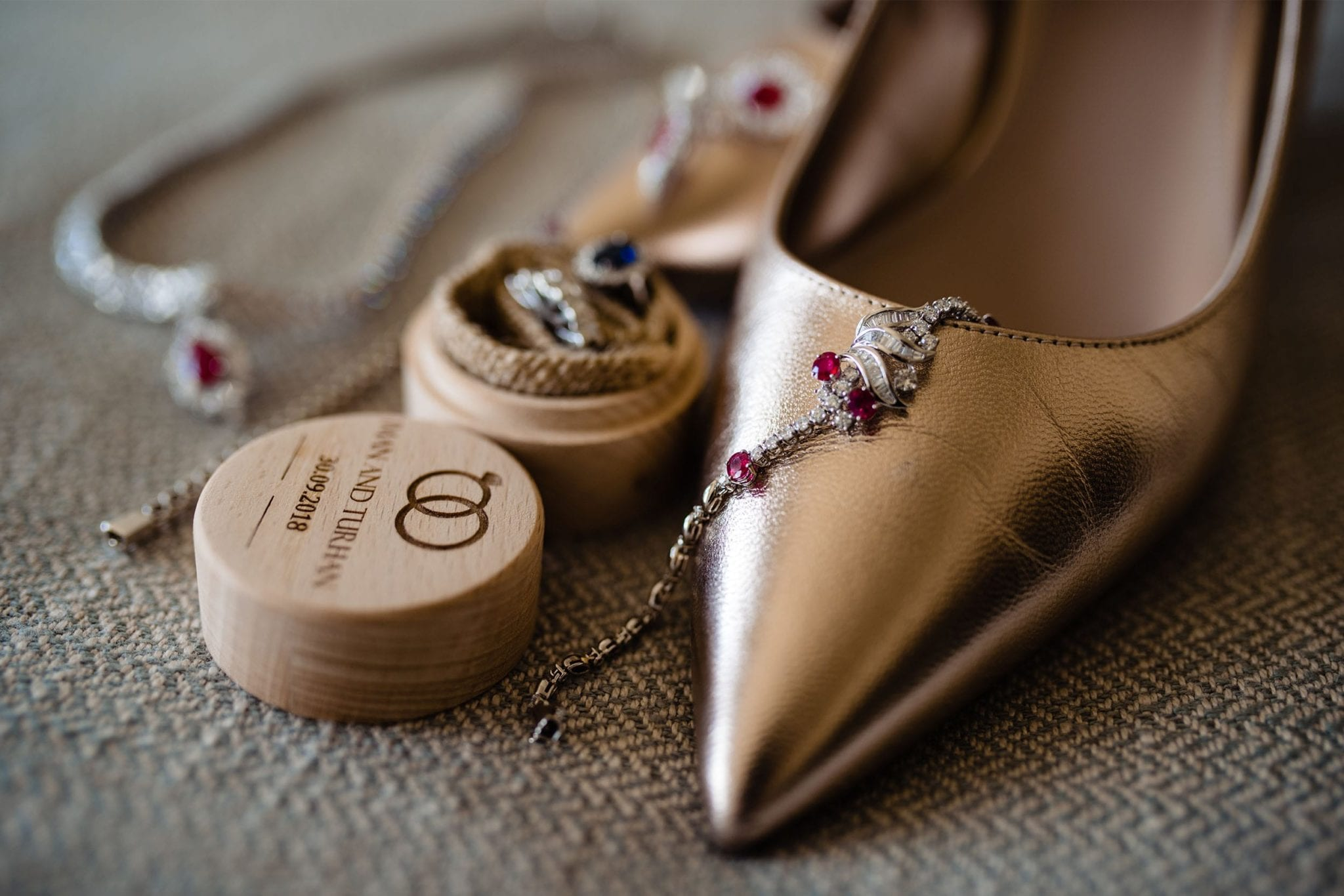 Female Wedding Photographer Essex - Shoes and Wedding Ring